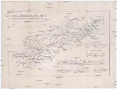 Montangeologische Karte der Braunkohlenreviere von Falkenau, Elbogen u[nd] Karlsbad