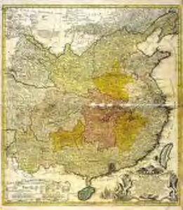 Regni Sinæ vel Sinæ propriæ mappa et descriptio geographica