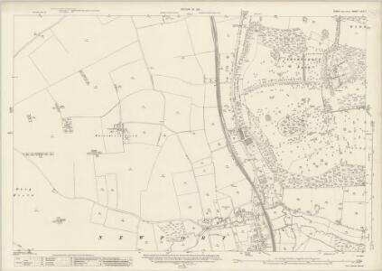 Essex (New Series 1913-) n XIII.7 (includes: Newport; Widdington) - 25 Inch Map