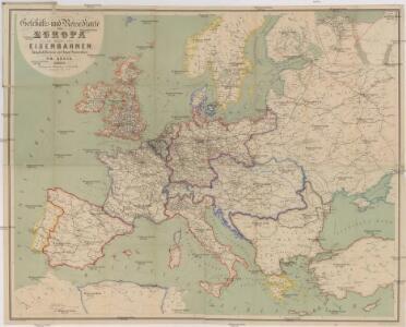 Geschäfts- und Reise-Karte von Europa