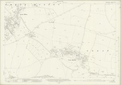 Oxfordshire XL.12 (includes: Great Haseley; Great Milton; Little Milton) - 25 Inch Map