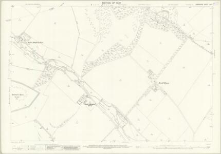 Hampshire and Isle of Wight LIV.9 (includes: Damerham; Martin; Rockbourne) - 25 Inch Map