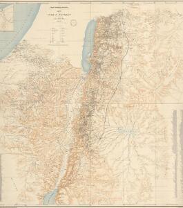 Karte von Arabia Petraea