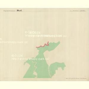 Bistritz - c0723-1-002 - Kaiserpflichtexemplar der Landkarten des stabilen Katasters