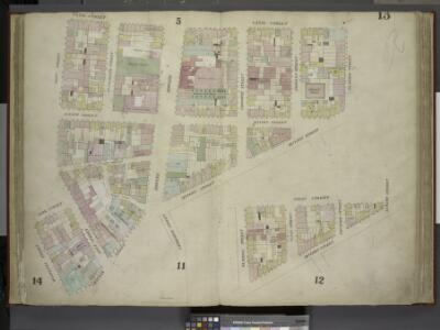 [Plate 13: Map bounded by Canal Street, Eldrige       Street, Division Street, Chatham Street, Mulberry Street, Park Street, Mott      Street; Including Bayard Street, Pell Street, Elizabeth Street, Mott Street,     Catherine Street, Bowery, Chrystie