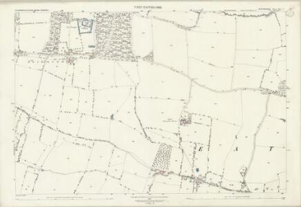 Bedfordshire VIII.7 (includes: Colmworth; Eaton Socon) - 25 Inch Map