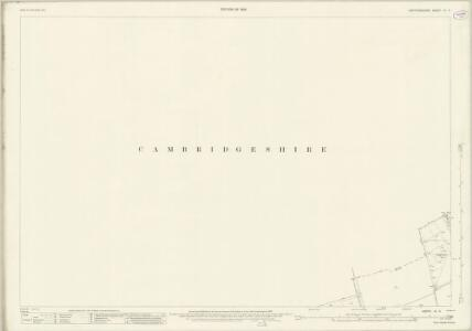 Hertfordshire IV.4 (includes: Bassingbourn; Kneesworth; Melbourn; Royston) - 25 Inch Map