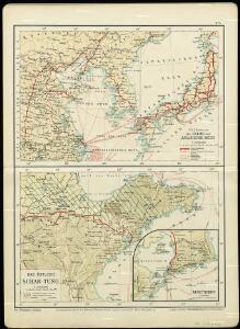 Die Länder im das Gelbe und Japanische MeerDas östliche Schan-Tung
