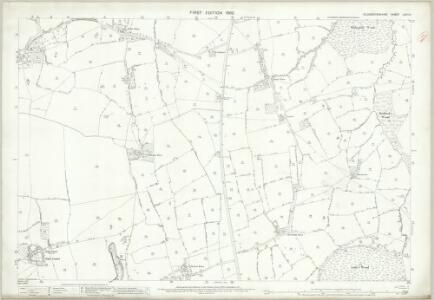 Gloucestershire LXIV.14 (includes: Horton; Wickwar; Yate) - 25 Inch Map