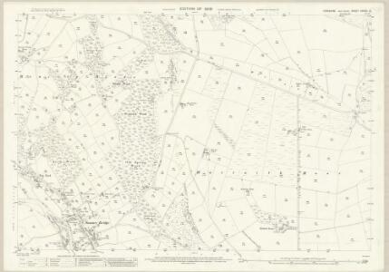 Yorkshire CXXXVI.10 (includes: Dacre; Hartwith Cum Winsley) - 25 Inch Map