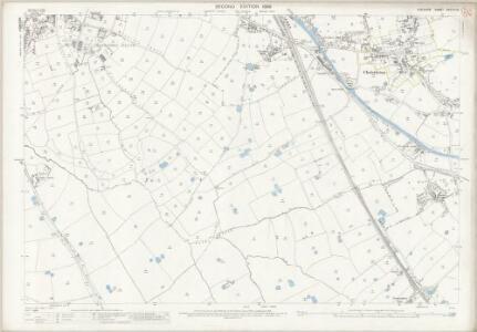 Cheshire XXXVIII.16 (includes: Chester; Christleton; Great Boughton; Huntington; Rowton) - 25 Inch Map