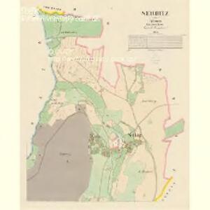 Serbitz - c7194-1-001 - Kaiserpflichtexemplar der Landkarten des stabilen Katasters