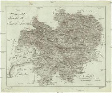 Übersichts Karte von Inner Österreich