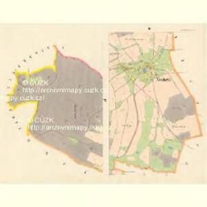 Neudörfel - c5255-1-003 - Kaiserpflichtexemplar der Landkarten des stabilen Katasters