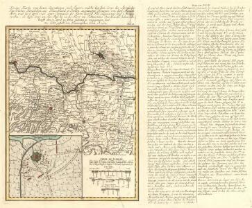 Kriegs Karte von denen Operationen und Lagern, welche bey dem Corps der Armée der Kayserlichen Königlichen aus Teutschland in Italien angelangten Trouppen :