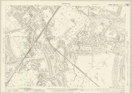 Lancashire CXIA.8 (includes: Cheadle And Gatley; Hazel Grove And Bramhall) - 25 Inch Map