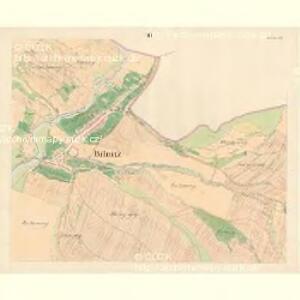 Bilnitz - m0305-1-002 - Kaiserpflichtexemplar der Landkarten des stabilen Katasters