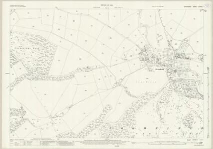 Shropshire LXXVIII.2 (includes: Bromfield) - 25 Inch Map