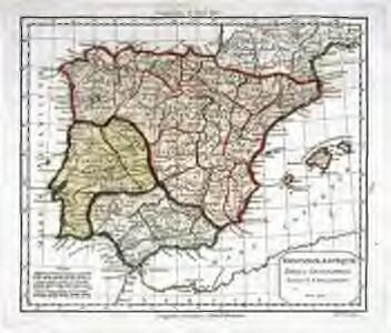 Hispaniæ antiquæ tabula geographica