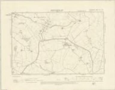 Shropshire XIII.SW - OS Six-Inch Map