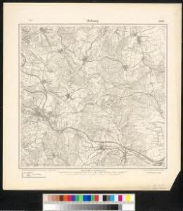Meßtischblatt 2369 : Driburg, 1913