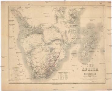 Süd Africa mit Magagascar
