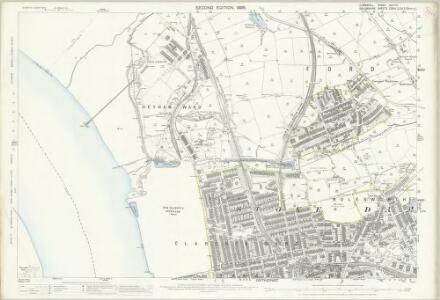 Cornwall XLVI.10 (includes: Devonport; Torpoint) - 25 Inch Map