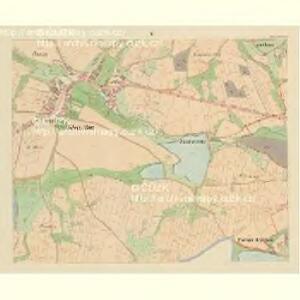 Klein Bor (Maljbor) - c4449-1-004 - Kaiserpflichtexemplar der Landkarten des stabilen Katasters