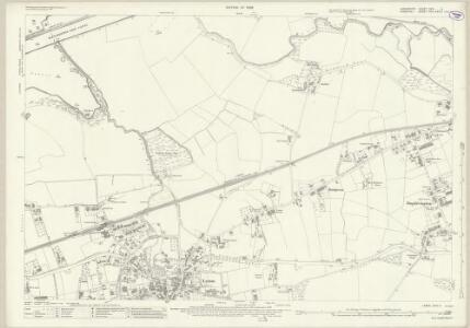 Lancashire CXVI.4 (includes: Lymm; Rixton With Glazebrook; Warburton) - 25 Inch Map