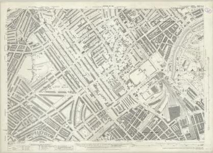 London (1915- Numbered sheets) IV.8 (includes: Paddington; St Marylebone) - 25 Inch Map