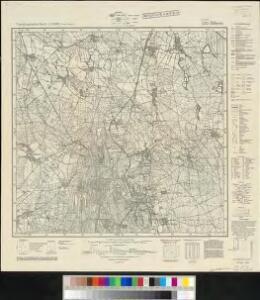 Meßtischblatt 4353 : Döbern, 1942