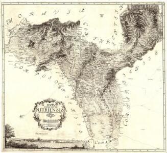 Mappa Comitatvs Nitriensis :