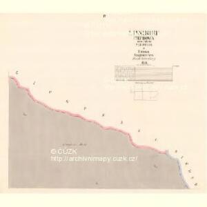 Linsdorf (Techowin) - c7882-1-004 - Kaiserpflichtexemplar der Landkarten des stabilen Katasters