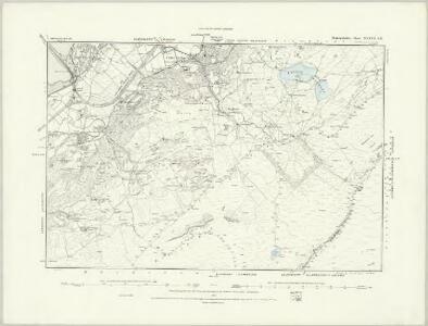 Merionethshire XXXVI.SW - OS Six-Inch Map