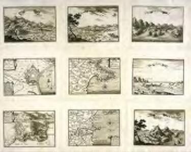 Carte du gouuernement de Toreille de Mongry et des Medes