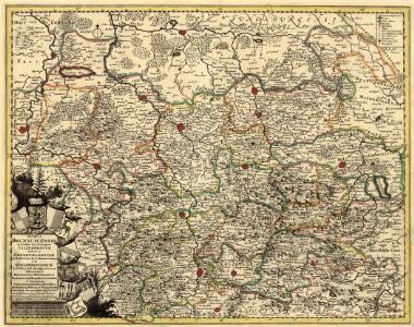 Ducatus Brunsuicensis in Eiusdem tres Principatus Calenbergicum Scilicet et Grubenhagensem