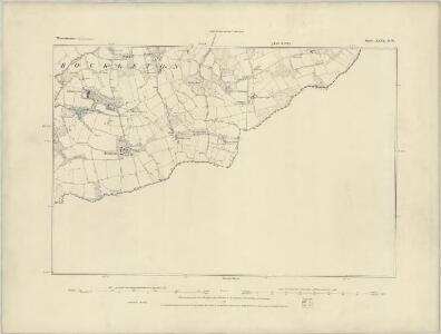 Worcestershire XXV.NE - OS Six-Inch Map