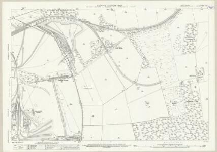 Lincolnshire XIX.1 (includes: Appleby; Scunthorpe) - 25 Inch Map