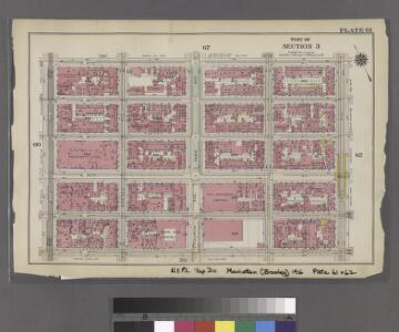 [Plate 61: Bounded by E. 37th Street, Third Avenue, E. 32nd Street, and Fifth Avenue.]