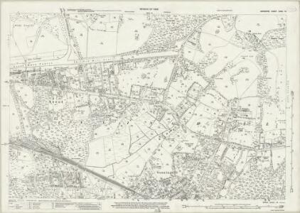 Berkshire XXXIX.16 (includes: Sunninghill) - 25 Inch Map