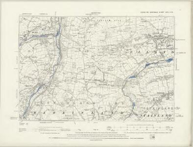 Yorkshire CCXLV.NW - OS Six-Inch Map