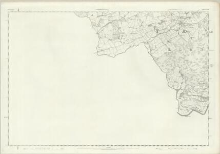 Denbighshire XXXIII - OS Six-Inch Map