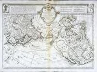 Carte des nouvelles decouvertes au nord de la mer du Sud