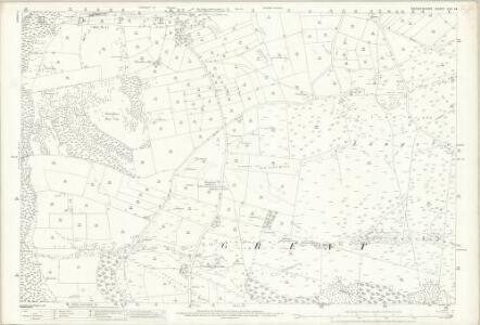 Derbyshire XVI.14 (includes: Great Longstone; Little Longstone; Litton; Wardlow) - 25 Inch Map