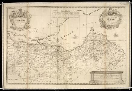 A New and Correct map of the Lothians from Mr. Adair's observations / by John Elphinstone ; Thos. Smith, Edin, sculpsit.