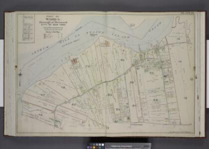 Part of Ward 5. [Map bound by State Boundary Line,    Hugenot Ave, Wood Row Road, Sharrotts Road; Morris St, Totten St, Cleveland St,  Rossville Ave]