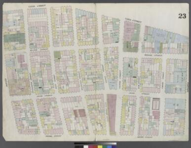 Plate 23: Map bounded by Broome Street, Bowery, Canal Street, Broadway