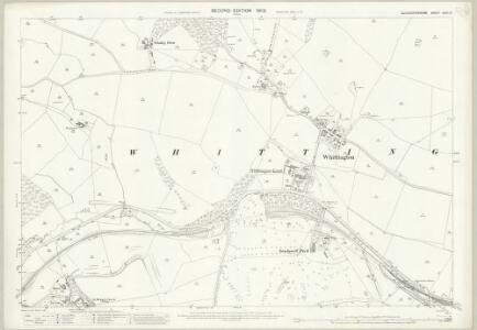 Gloucestershire XXVII.10 (includes: Dowdeswell; Sevenhampton; Whittington) - 25 Inch Map