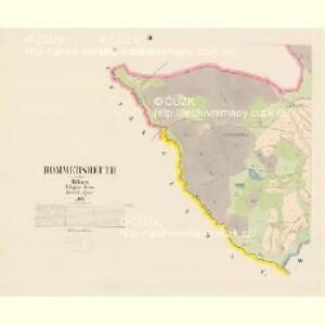 Rommersreuth - c6918-2-002 - Kaiserpflichtexemplar der Landkarten des stabilen Katasters