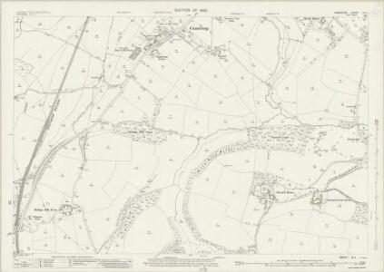 Hampshire and Isle of Wight LX.4 (includes: Buriton; Petersfield) - 25 Inch Map